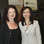 Sandy Zubrinich & Ms Nussara Smith, director Overseas Market Development: Asia, Trade & Investment Qld