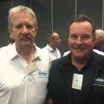 Bruce Bennett and Tony Vickers