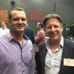 Cr Peter Cox and Mayor Tony Wellington