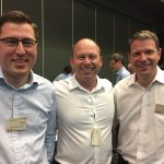 Henry Pike, Adrian Allen and Chris Mountford