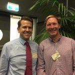Jarrod Bleijie MP and Mark McMahon
