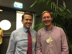 Jarrod Bleijie MP and Mark McMahon