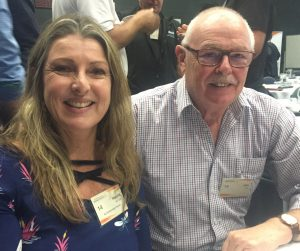 Narelle McCarthy and John Hare