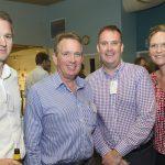 (l-r) Dustin Welch, Peter Bolton-Hall, Michael Hopkins, Maya Gurry