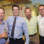 (l-r) Peter Bolton-Hall, Michael Shadforth, Tony Sowden, Bill Darby