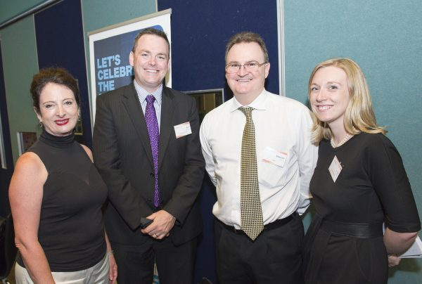 (l-r) Sandy Zubrinich, Ben Simpson, Malcolm Aikman and Jenna Cairney