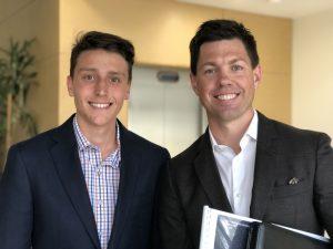 Ben DeLuca and Michael Hurley