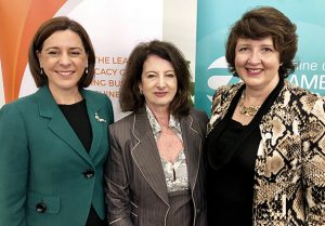 DebFrecklington MP, Sandy Zubrinich, Fiona Simpson MP_lowres