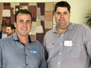 Marty Hunt MP and Brent Mickelberg MP