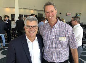 Peter Pallot and Eric Van Meurs