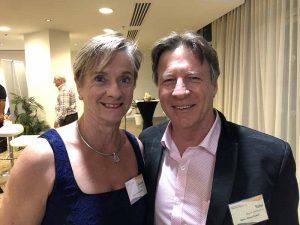 Bridget Murphy and Mayor Tony Wellington