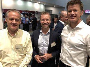 Gavin Keely, Paul Fisher & Evan Aldridge