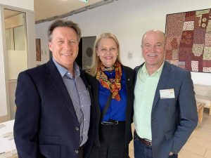 Noosa Mayor Tony Wellington, Member for Noosa Sandy Bolton MP & Cr Brett de Chastel